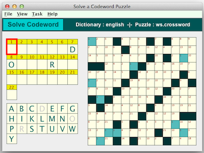 image relating to Codeword Puzzles Printable known as Codeword Puzzles