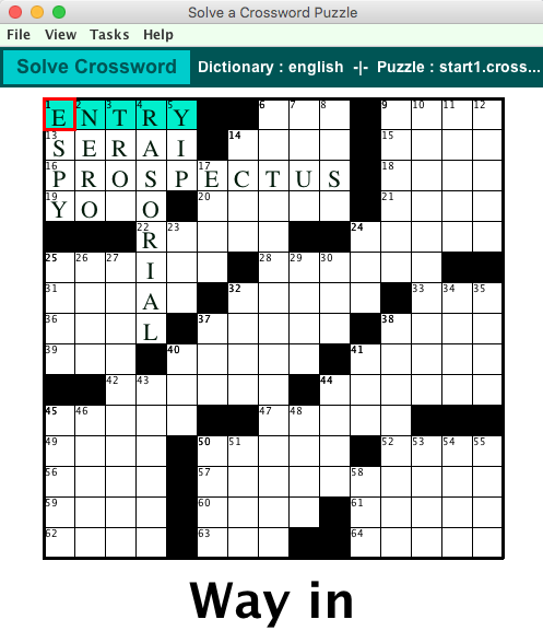 THE SOLVE FUNCTION (AUDIENCE MODE)  sc 1 st  Crossword Express & Make your own Crossword Puzzles with Crossword Express 25forcollege.com
