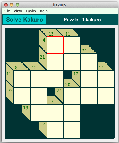 graphic about Kakuro Puzzles Printable identified as Kakuro Puzzles