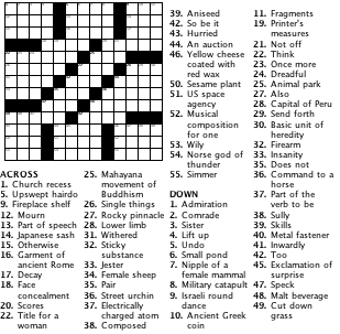 Build Your Own Crossword Puzzles
